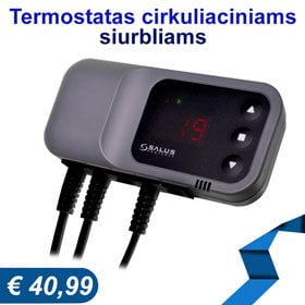 termostatas cirkuliaciniam siurbliui