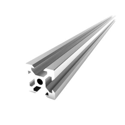aliuminio profiliai 20x20 ilgis