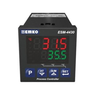 Temperatūros, proceso valdiklis su universaliu įėjimu ESM-4430