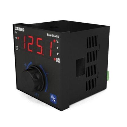 Temperatūros valdiklis kepimui su laikmačiu ESM-9944-N šonas