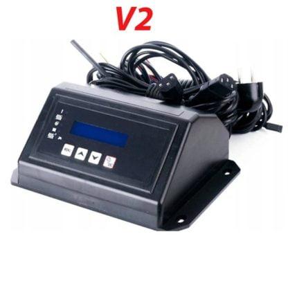 Granulinio katilo valdiklis su kuro padavimu, uždegikliu ir fotojutikliu V2