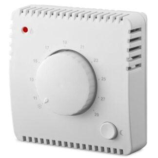 Mechaninis kambario termostatas su naktiniu režimu