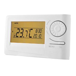 Kambario termostatas su dideliu ekranu