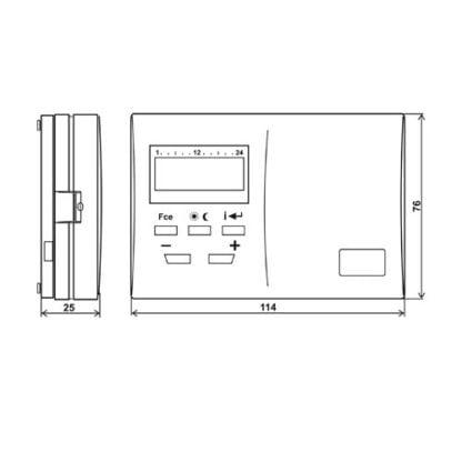 kambario termostatas ismatavimai
