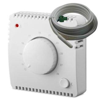 Mechaninis kambario termostatas su išoriniu jutikliu