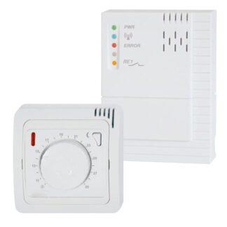 Mechaninis belaidis kambario termostatas