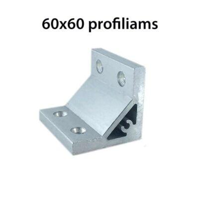 90 Support aliuminio profiliams sonas 60x60 profiliams
