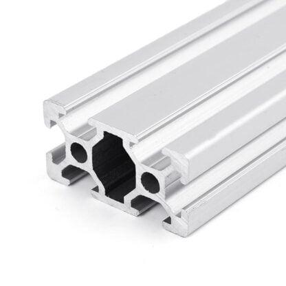 Aliuminio profilis 20x40 T-slot paverstas