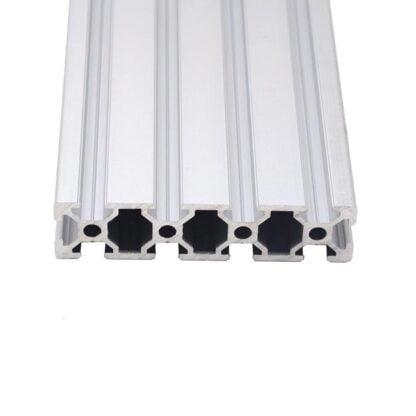 Aliuminio profilis 20x80 T-slot viršus