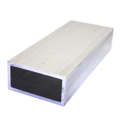 Aliuminio stačiakampis vamzdis 50x25x3