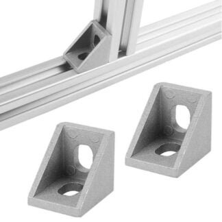 Brackets aliuminio profiliams