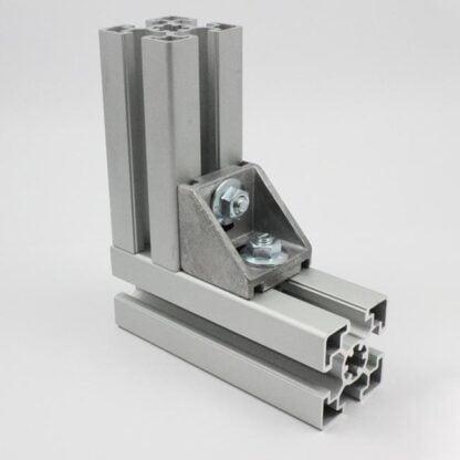 Brackets aliuminio profiliams tvirtinimas 2