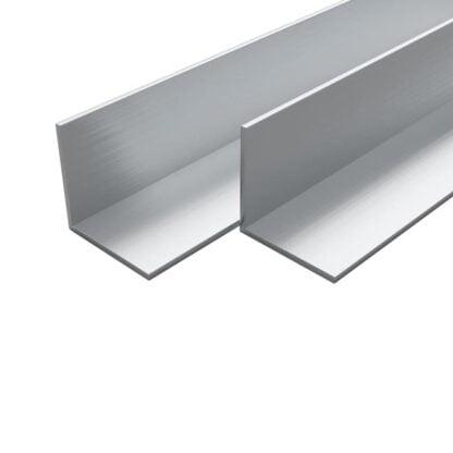 L formos aliuminio kampuotis 20x20x2