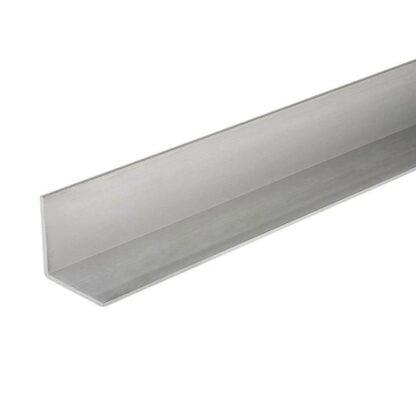 L formos aliuminio kampuotis 20x20x2 šonas