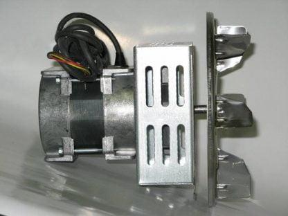 Katilo dūmų išmetimo ištraukimo ventiliatorius 75 W šonas