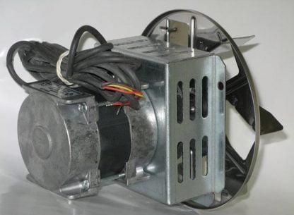 Katilo dūmų išmetimo ištraukimo ventiliatorius 75 W galas