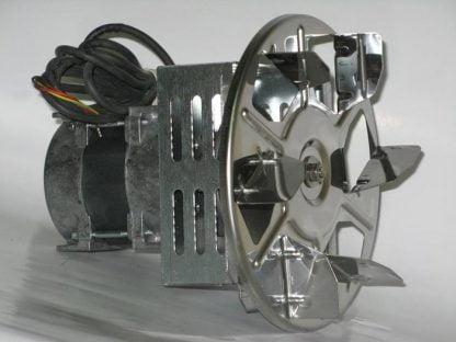 Katilo dūmų išmetimo ištraukimo ventiliatorius 75 W iš šono