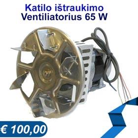 Katilo ištraukimo ventiliatorius