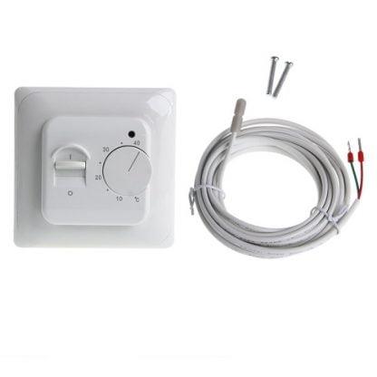 mechaninis termostatas šildomoms grindims